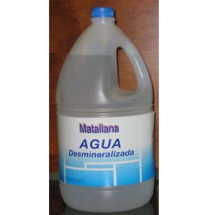 AGUA DESMINERALIZADA 4L
