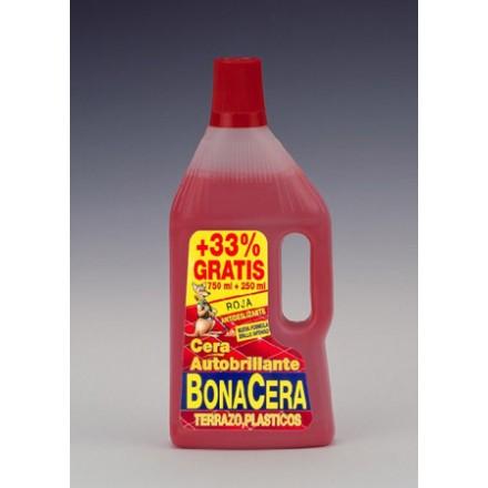 L/CERA BONACERA ROJA 750ML+33%